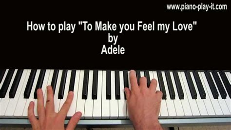 download mp3 adele to make you feel my love to make you feel my love piano tutorial adele chords
