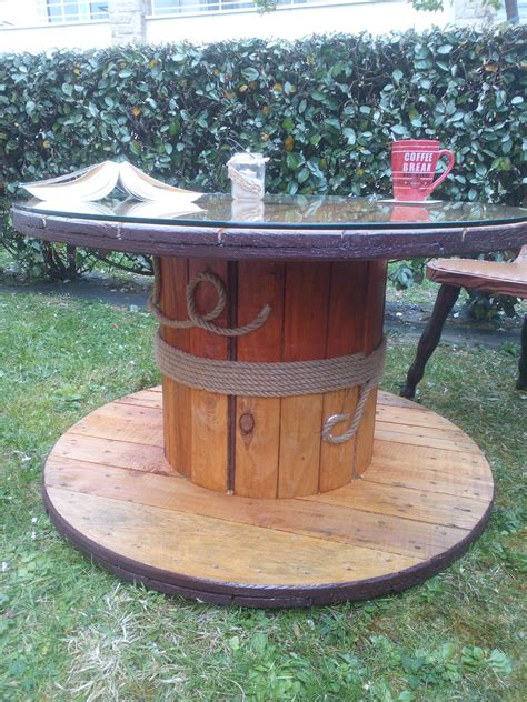 Table En Bobine De Cable by Touret 2 R 233 Nov 233 Table Basse R 233 Versible Bobine Diy