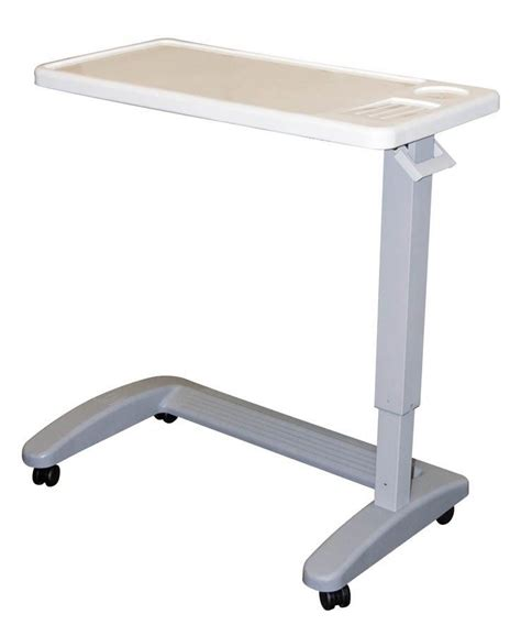 overbed table adjustable mobility chair hospital p567 carex read food ebay
