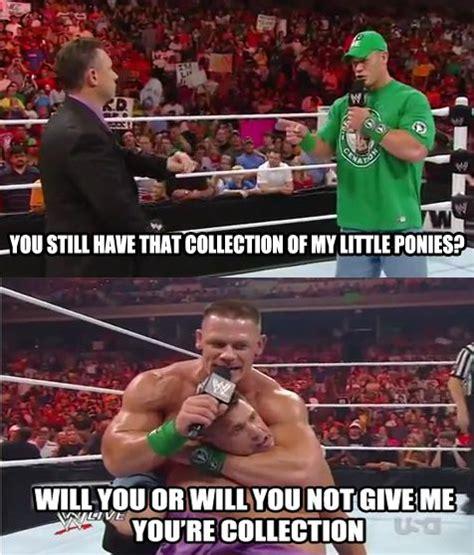 Funny Wrestling Memes - he is a brony wrestling memes pinterest wrestling