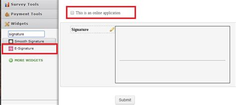 Signature Line Set how can i add a signature line to my existing form jotform