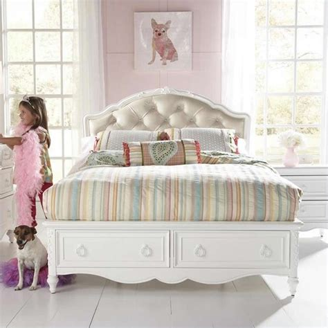 sweetheart bed sweetheart upholstered bed in white 8470 ubed