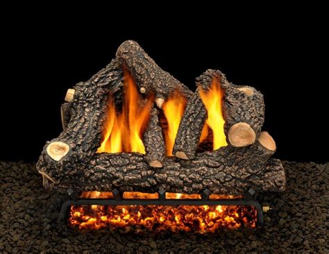 fireplace gas log set fireplaces