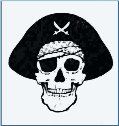 imagenes de calaveras piratas tatuaje bandera pirata tatuajes fotos tattoos tattoo
