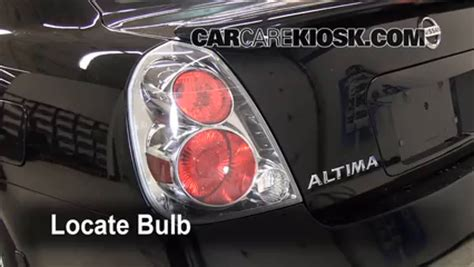 2006 nissan altima brake light bulb brake light change 2002 2006 nissan altima 2006 nissan