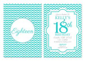 18th birthday party invitations custom made australia