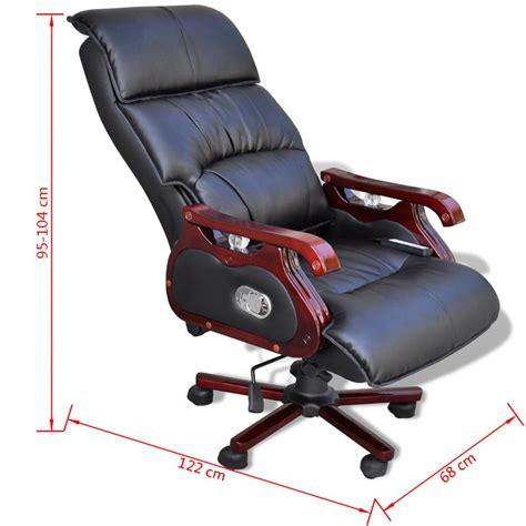 sedia per massaggi sedia per massaggi regolabile in pelle 9 funzioni