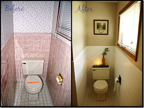 how to paint old bathroom tile painting over bathroom tile before and after pictures