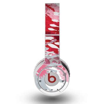 Earphone Beats Ori shop paint splatter beats on wanelo