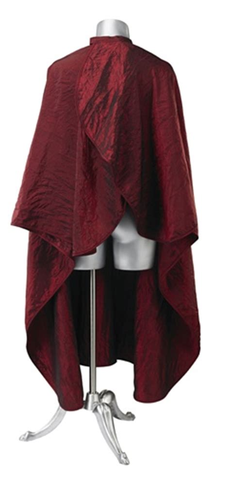 zippered hair cutting smock in can red hair cutting cape haircutting cape salon hairstylist