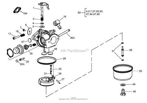 tecumseh engine carburetor diagram lawn boy 10785 insight platinum lawn mower 2007 sn