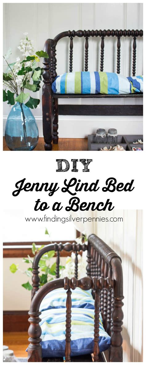 jenny lind end diy jenny lind bed to a bench finding silver pennies