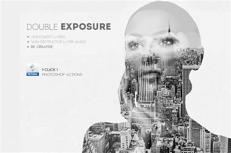 double exposure tutorial on photoshop what s hot bundle vol 1 add ons effects dealjumbo