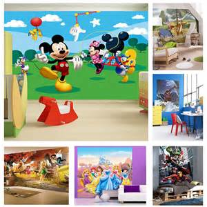disney murals wall childrens bedroom disney amp character wallpaper wall mural