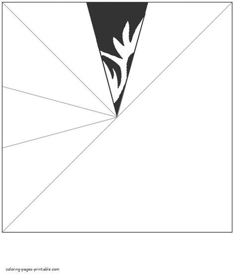 3d Paper Snowflake Templates Printable