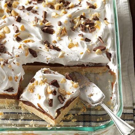 desserts peanut butter peanut butter pudding dessert recipe taste of home