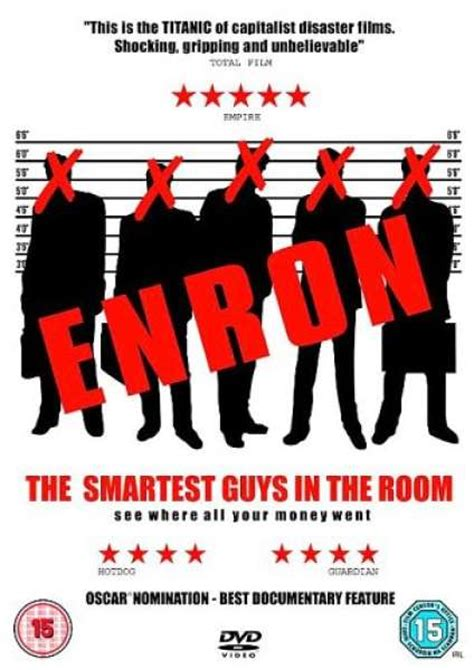 The Smartest Guys In The Room by Enron The Smartest Guys In The Room Dvd Zavvi