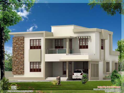 4 bedroom beach house flat roof modern house designs contemporary house plans