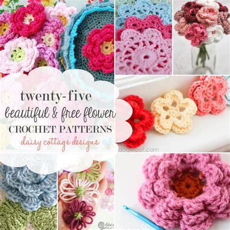 free crochet flower pattern uk craft passions 25 free flower crochet patterns free