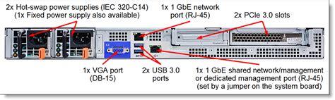 Lenovo X3250 M6 3633b2a by Lenovo System X3250 M6 Intel Xeon E3 1200 V5 I3