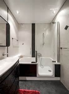 salle de bain 4m2 avec baignoire photos de conception de