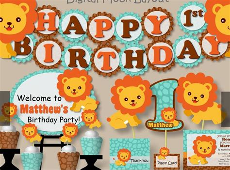Cing Themed Birthday Cards
