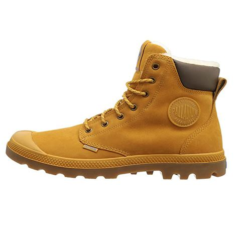 palladium mens pa sport cuff water proof leather shoe
