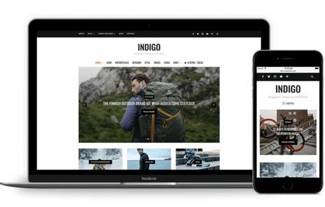 theme eclipse indigo indigo review magazine theme from wpzoom good