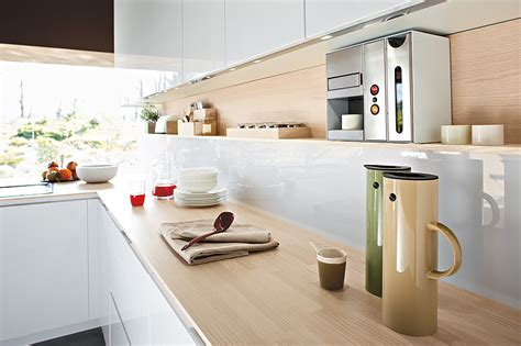 Kitchen Countertop Storage Solutions by Italian Kitchen Offers Functional Storage