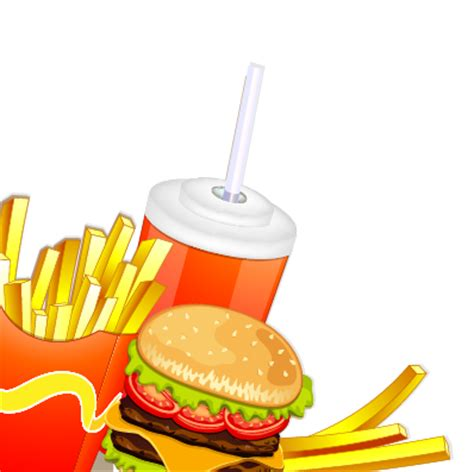 Creative Fast Food Products Background Vector 01 Free Fast Food Powerpoint Template