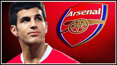 arsenal youtube fabregas return to arsenal youtube