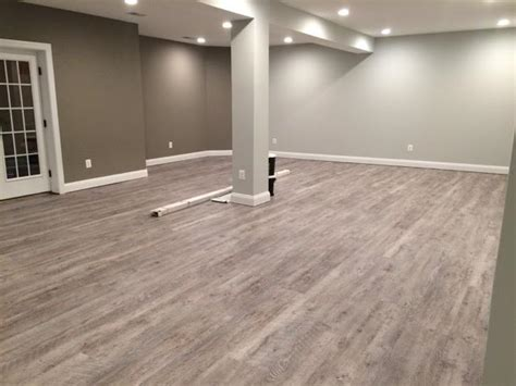 Vinyl Flooring For Basement Vinyl Wood Flooring Basement