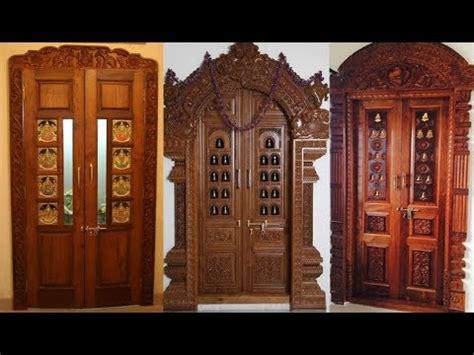 pooja room doors wooden door frame  door designs