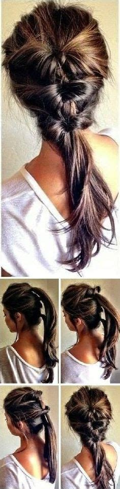 diy hairstyles in 5 minutes amazing hairstyle in less than 5 minutes ponies hair