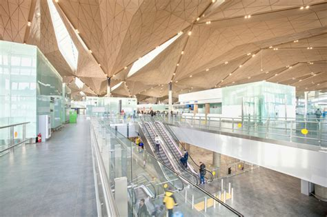 designboom airport grimshaw architects first project in russia opens to the