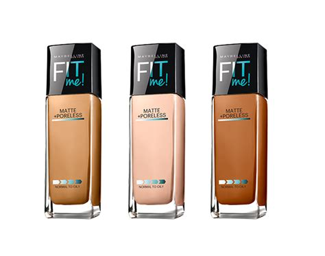 Maybelline Fit Me Foundation Matte Poreless buy maybelline fit me matte poreless foundation kp fusion