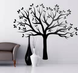 Large Tree Wall Stickers vinilo decorativo silueta 225 rbol oto 241 al tenvinilo