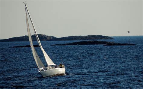 sailing boat in the sea free photo sail boat boat sailing sea sail free