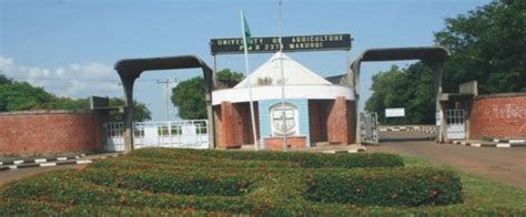 Acceptance Letter For Of Agriculture Makurdi Fuam Releases Merit Admission List Check Here