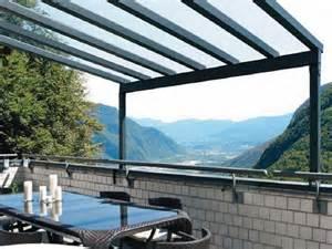 coperture per balconi in pvc mobili e arredamento coperture per terrazzi in policarbonato