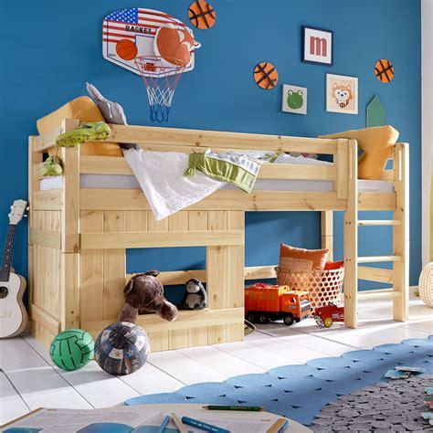 Kinderzimmer Junge Bett by Halbhohes H 252 Tten Hochbett F 252 R Jungen Paradise