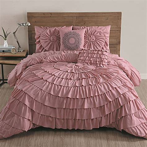 pink queen comforter set buy avondale manor sadie 5 piece queen comforter set in
