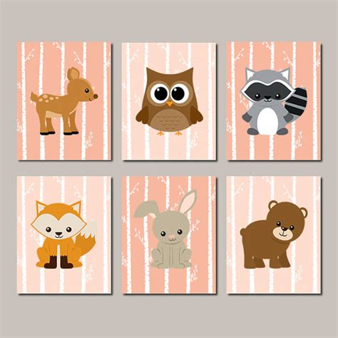 Woodland Nursery Decor by Woodland Nursery Baby Nursery Woodland Nursery Decor