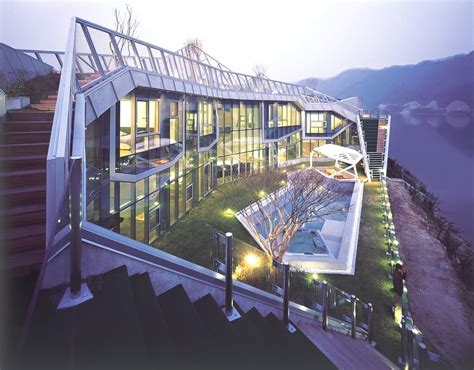 mind blowing luxury island house in south korea