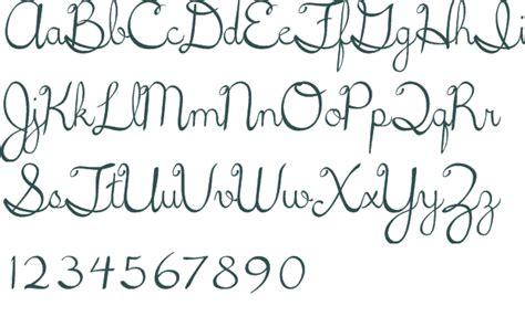 Printable Cursive Fonts | 5th grade cursive font download free truetype