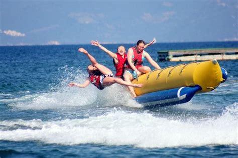banana boat ride tips asprokavos watersports kavos greece updated 2018 top