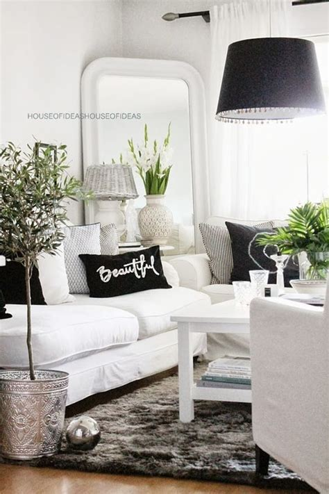 Black And White Living Room Ideas Black And White Living Room Ideas