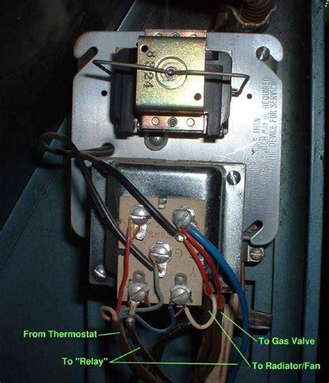 wiring a gas forced air furnace transformer gas furnace