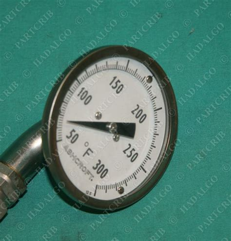 Temperature Ashcroft Ashcroft 9196 E 01 Temperature Temp F 0 300 F