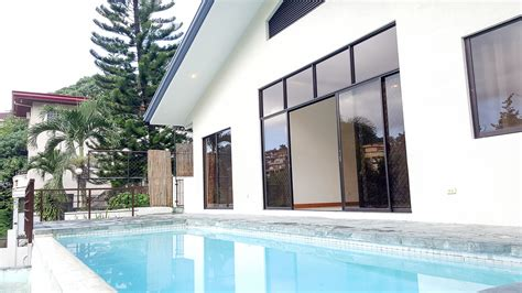 3 bedroom house with pool renovated maria luisa house for sale cebu grand realty